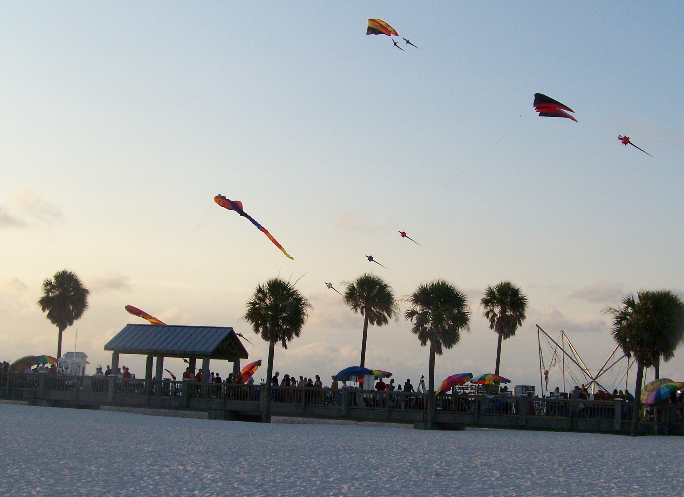 Kiting TampaBay flying kites in Clearwater! Come fly with us!