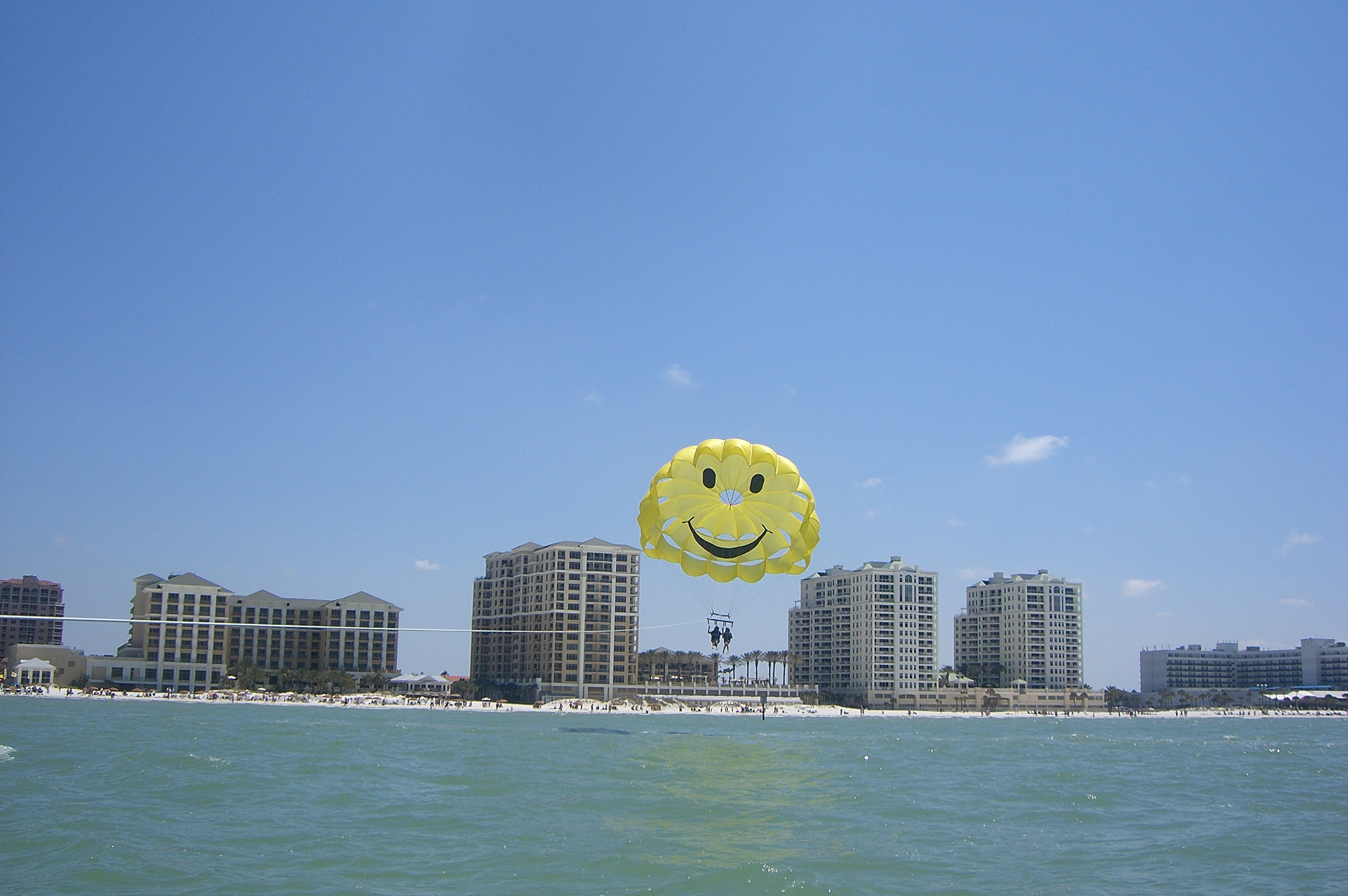 Parasailing at Clearwater Beach, FL