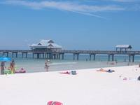 This is a picture i took at clearwater beach.