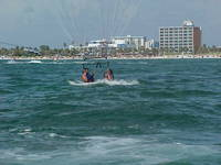 Pairisailing on the beach in clearwater. What a beautiful place and experience. I can't wait to go back again for a 3rd time. I love it there....