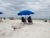 Beautiful day at Clearwater beach